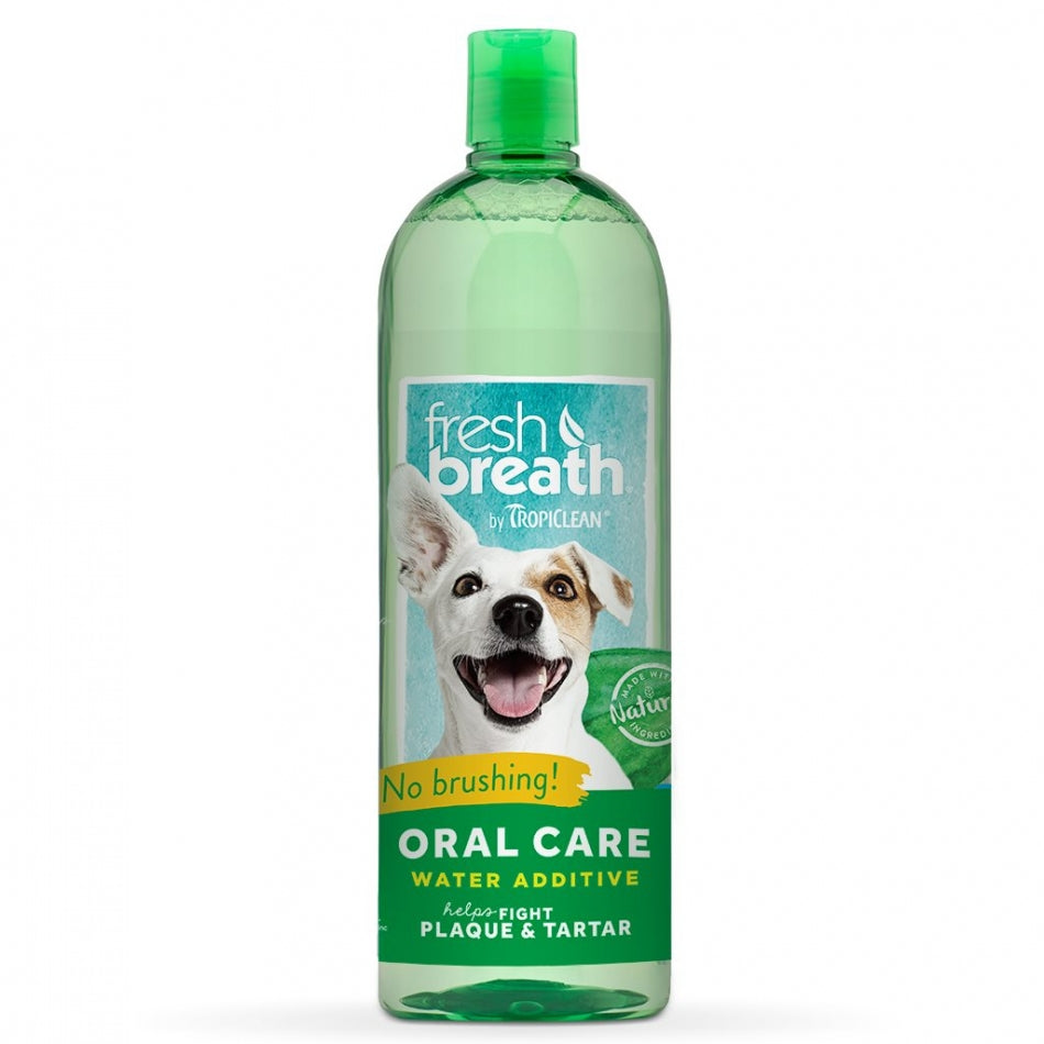Tropiclean FRESH BREATH WATER ADDITIVE - Barks and Licks