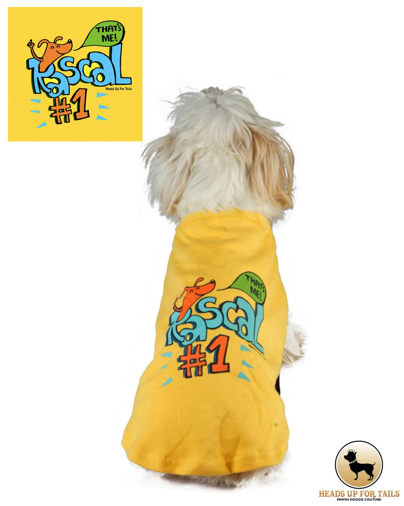 Rascal # 1 T-Shirt - Barks and Licks