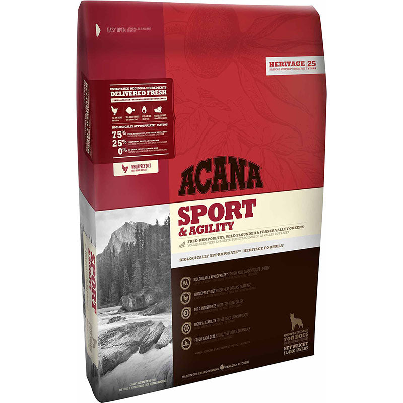 ACANA SPORT & AGILITY Dog Food - Barks and Licks