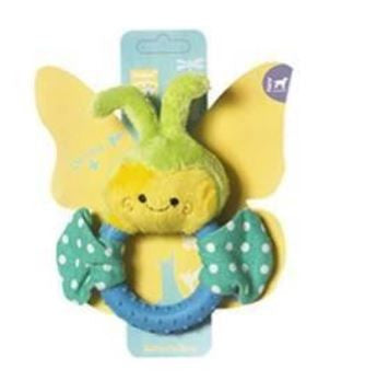 Butterfly Ring Plush Soft Toy - Barks and Licks