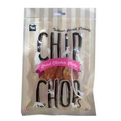 Chip Chops Dried Chicken Jerky Dog Treats - barksnlicks
