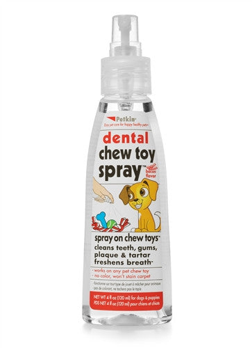 Petkin Chew Toy Spray - barksnlicks