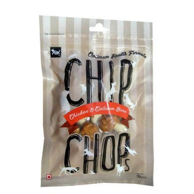 Chip Chops Chicken & Calcium Dog Treats - barksnlicks