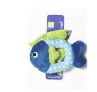 Cuddly Fish Ring Plush Toy - barksnlicks