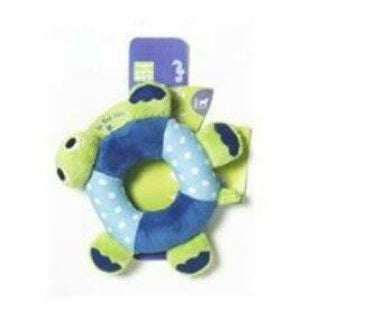 Cuddly Turtle Ring Plush Toy - barksnlicks