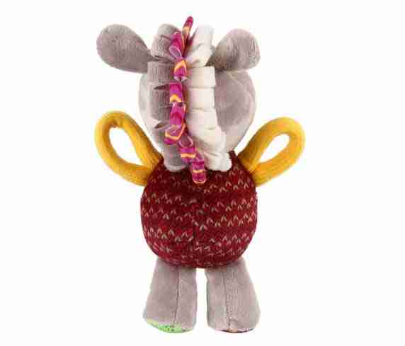 GiGwi Plush Friendz Donkey (with REFILLABLE Squeaker)