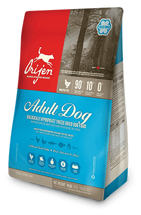 Orijen Adult Freeze Dried Dog Food - Barks and Licks