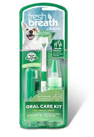 Tropiclean FRESH BREATH ORAL CARE KITS - Barks and Licks