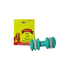 Glenand Rubber Dental Dumbell - barksnlicks