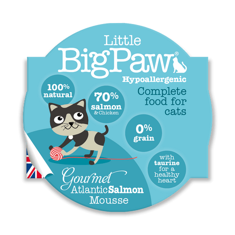 Little BigPaw Gourmet Atlantic Salmon Mousse