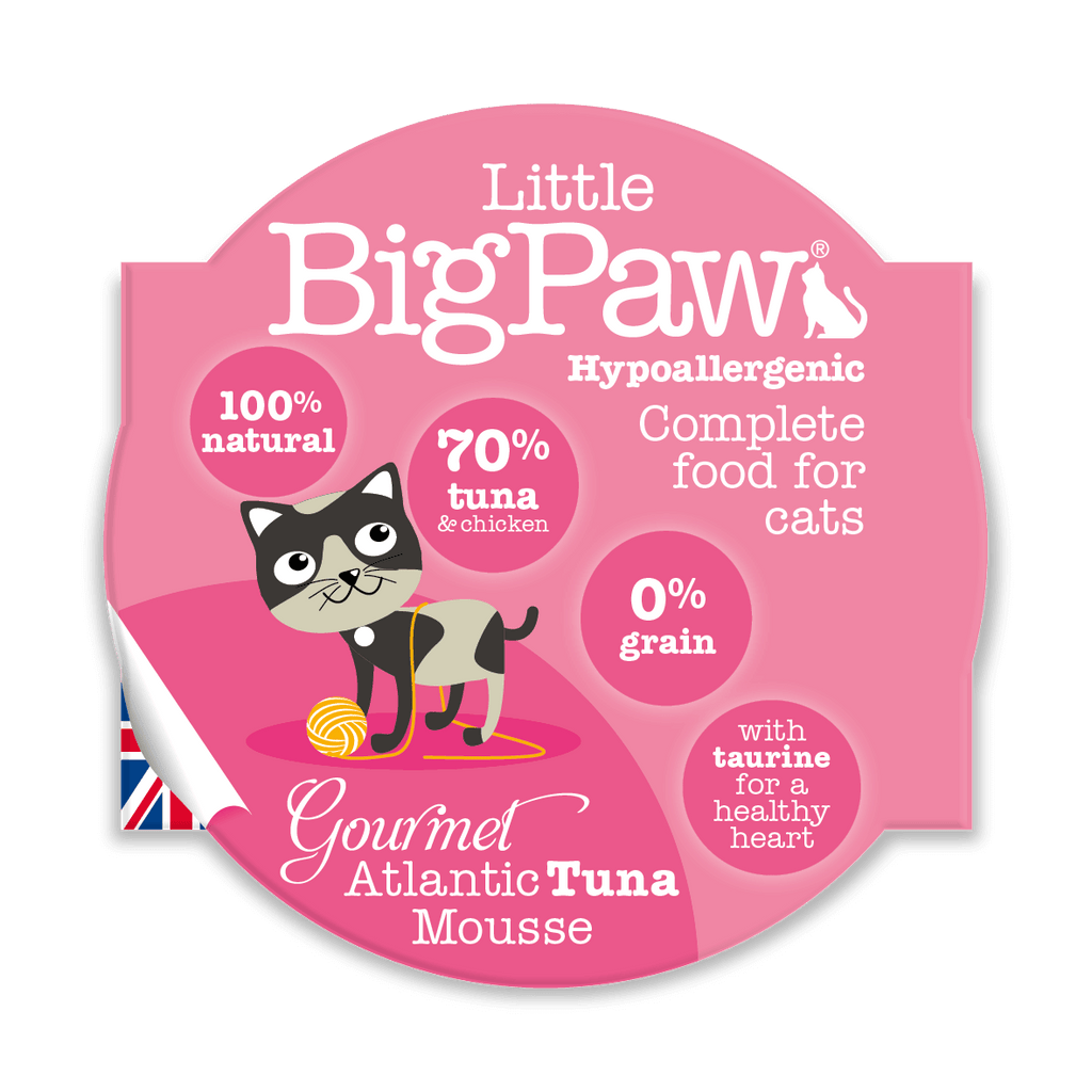 Little BigPaw Gourmet Atlantic Tuna Mousse - Barks and Licks