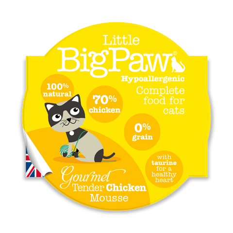 Little BigPaw Gourmet Tender Chicken Mousse