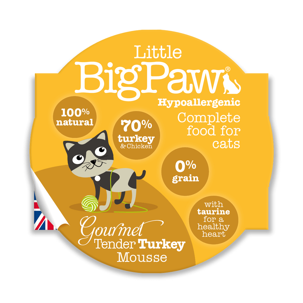 Little BigPaw Gourmet Tender Turkey Mousse - Barks and Licks