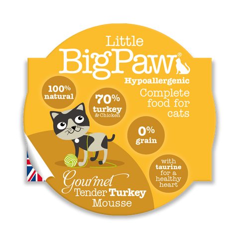 Little BigPaw Gourmet Tender Turkey Mousse