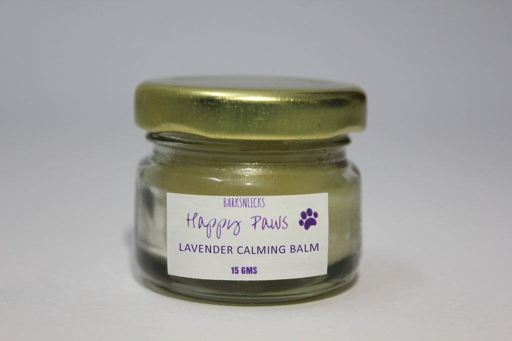 Happy Paws Lavender Calming Balm - Barks and Licks