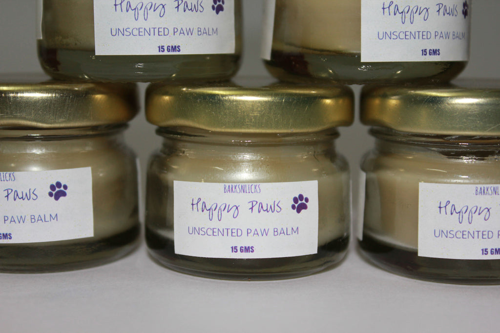 Happy Paws Unscented Paw Balm - Barks and Licks