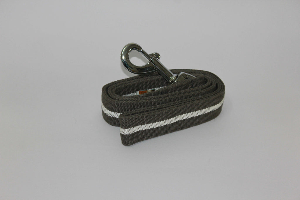 Big Boss Cotton Dog Lead with Stripes - Barks and Licks