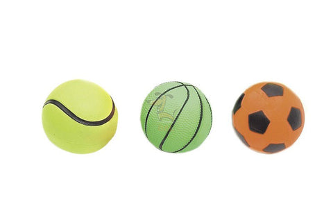 KARLIE NEON BALLS ASSORTED - barksnlicks