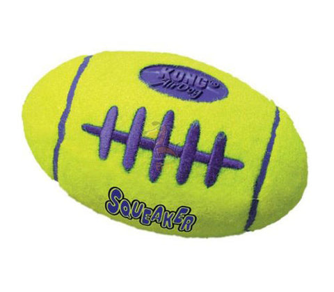 KONG AIR SQUEAKER FOOTBALL - barksnlicks