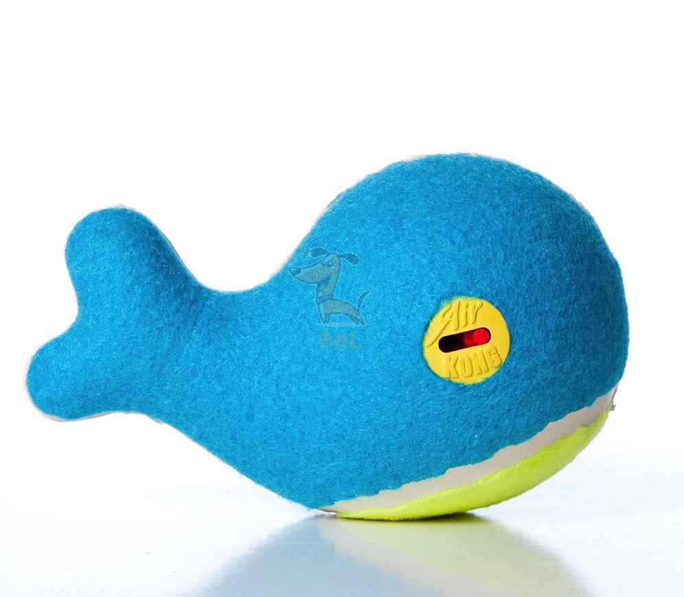 KONG OFF/ON SQUEAKER WHALE - barksnlicks  - 1