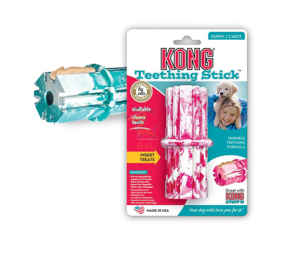KONG PUPPY TEETHING STICK - Barks and Licks