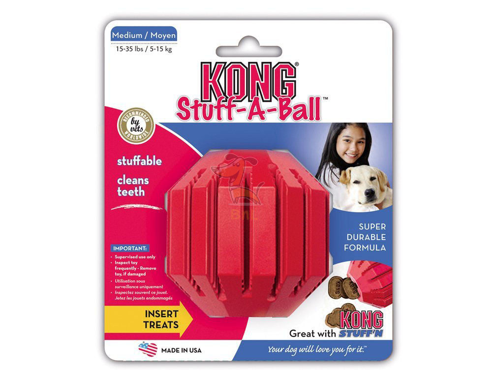 KONG STUFF A-BALL - Barks and Licks