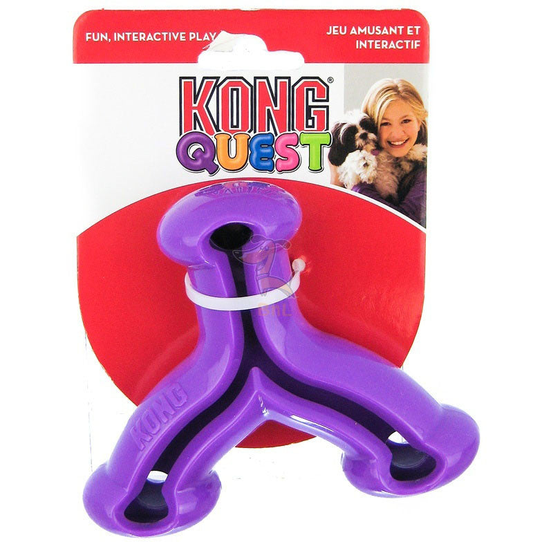 KONG QUEST WISHBONE - Barks and Licks