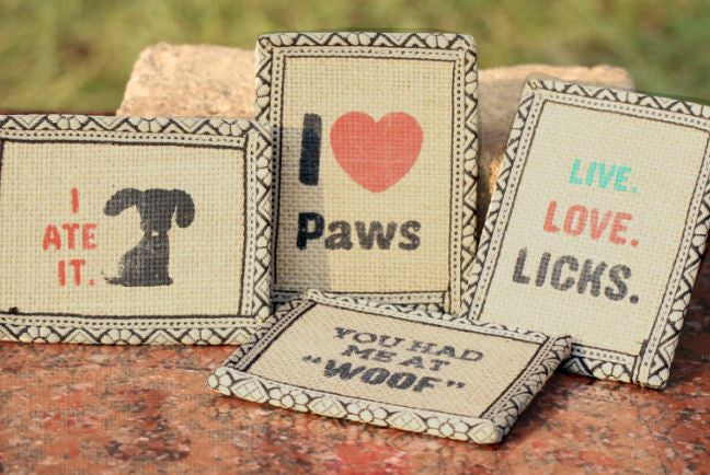 POKO Quirky Jute Fridge Magnets - barksnlicks  - 2