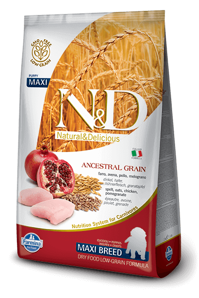 N&D Chicken & Pomegranate Puppy Maxi Low Grain - Barks and Licks
