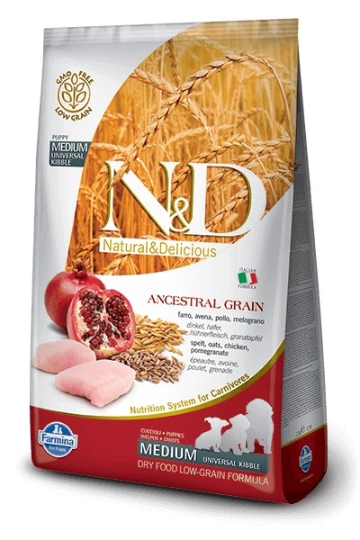 N&D Chicken & Pomegranate Puppy Medium - Barks and Licks