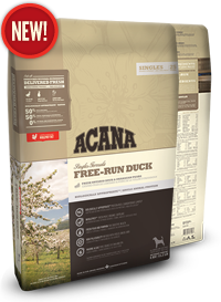 ACANA Free-Run Duck Dog Food - Barks and Licks