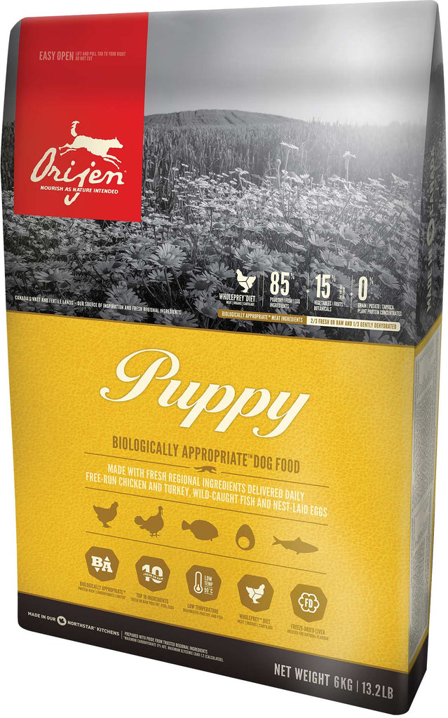 Orijen Puppy Small Dog Food - New Recipe - Barks and Licks