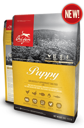 Orijen Puppy Small Dog Food - New Recipe
