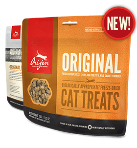Orijen Cat Freeze Dried Treats - Barks and Licks