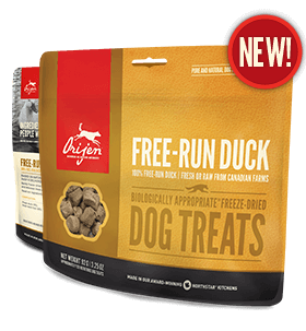 Orijen Free Run Duck Freeze Dried Dog Treat - Barks and Licks