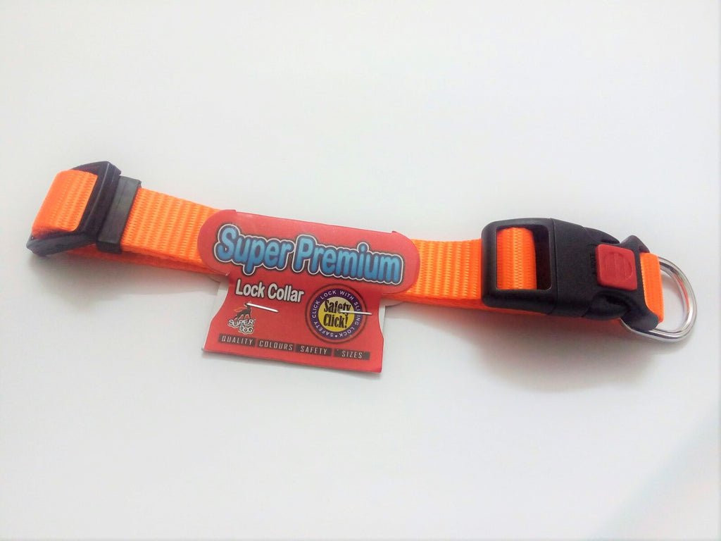 Super Dog Premium Lock Collar - Barks and Licks