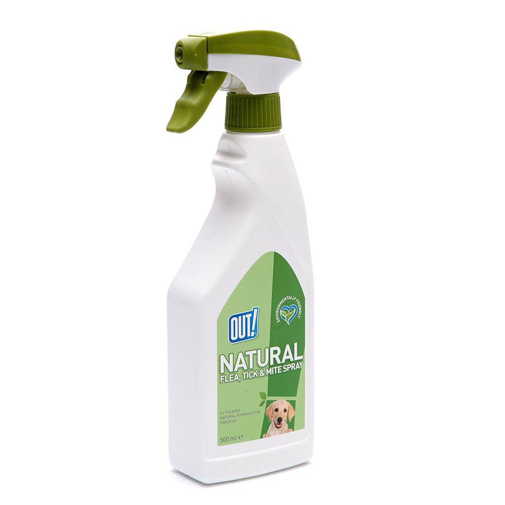 OUT! Natural Flea, Tick & Mite Spray - barksnlicks