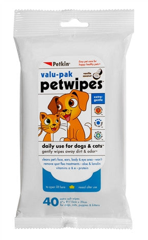 Pet Wipes Valu-Pak (50ct) - barksnlicks