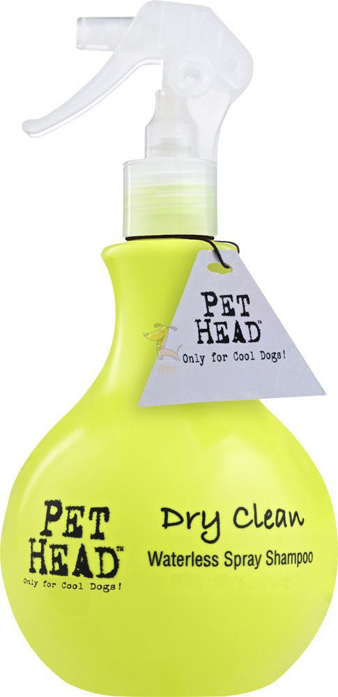 PET HEAD DRY CLEAN WATERLESS SPRAY SHAMPOO - Barks and Licks