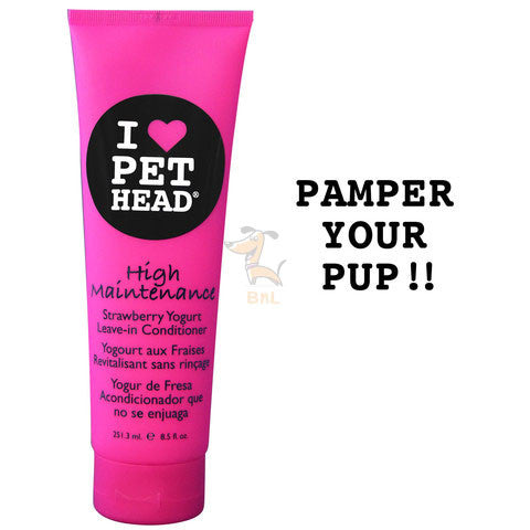 PET HEAD HIGH MAINTENANCE LEAVE-IN CONDITIONER - Barks and Licks