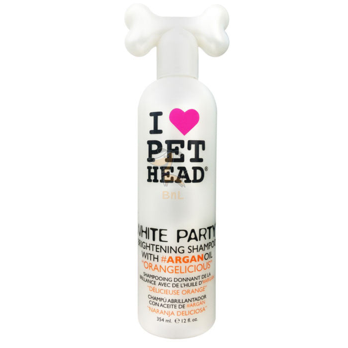 PET HEAD WHITE PARTY SHAMPOO - Barks and Licks