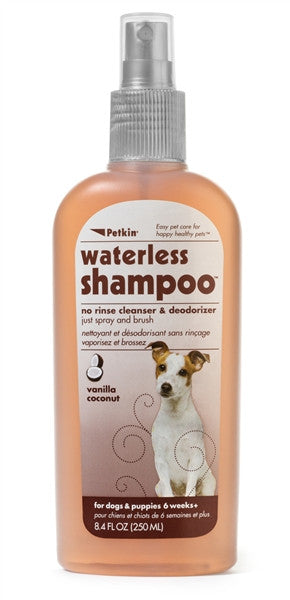 PetKin Waterless Shampoo - barksnlicks