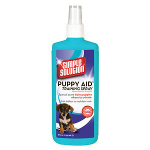 Simple Solution - Puppy Aid Training Spray - Barks and Licks