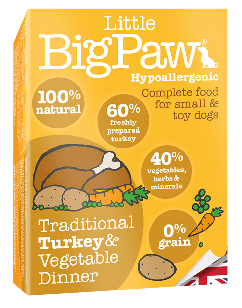 Little Big Paw Traditional Turkey & Vegetable Dinner