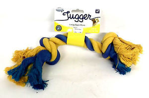 Pet Brands Tugger Rope Bone - Barks and Licks