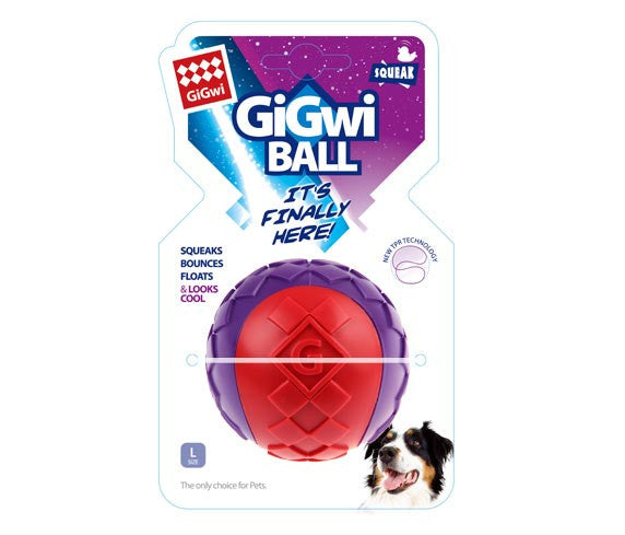 GiGwi G-BALL Solid - Barks and Licks