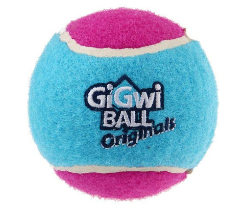 GiGwi Push Tennis Ball Originals - 3 pc Pack