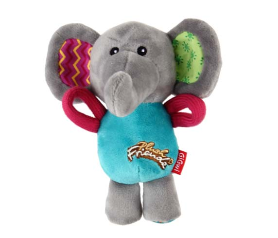 Gigwi PLUSH FRIENDZ Elephant - Barks and Licks