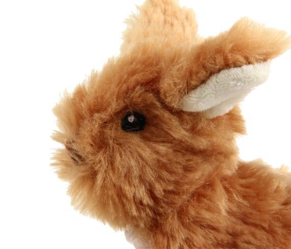 Gigwi PLUSH FRIENDZ Rabbit - Barks and Licks