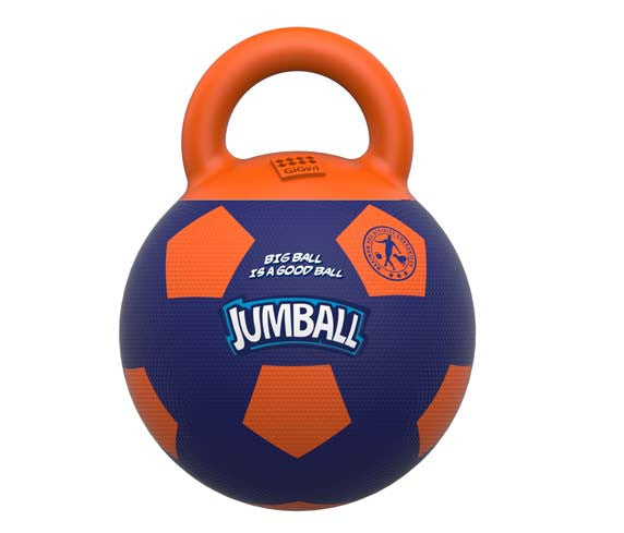 Gigwi JUMBALL Soccer Ball - Barks and Licks